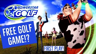 FREE GOLF GAME! POWERSTAR GOLF ON XBOX ONE! TUTORIAL! HOW TO PLAY!