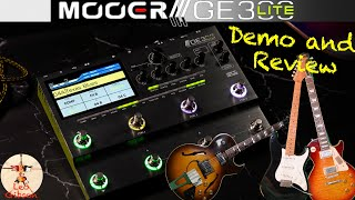 Mooer GE 300 Lite: Demo and Review (tested with both rock and jazz oriented tones!!!)