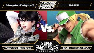 RSH Ultimate #55: MorphoKnight!! (Bayonetta) vs DAMN. (Terry) - Winners Quarters