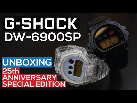G-SHOCK DW-6900-SP-1 & DW-6900-SP-7 | 25th Anniversary Special Edition Models