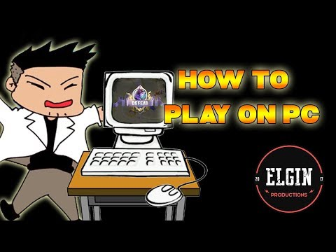 HOW TO PLAY MOBILE LEGENDS ON PC AND STILL AIM GOOD