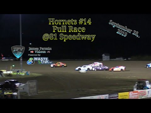 Hornets #14, Full Race, 81 Speedway, 09/28/19
