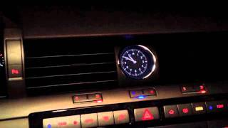 VW Phaeton things inside