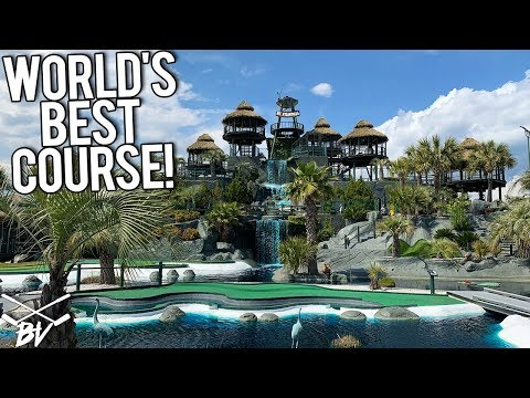 THE WORLD'S BEST MINI GOLF COURSE JUST GOT BETTER! LOTS OF HOLE IN ONES! WIN FREE GAMES FOR LIFE!
