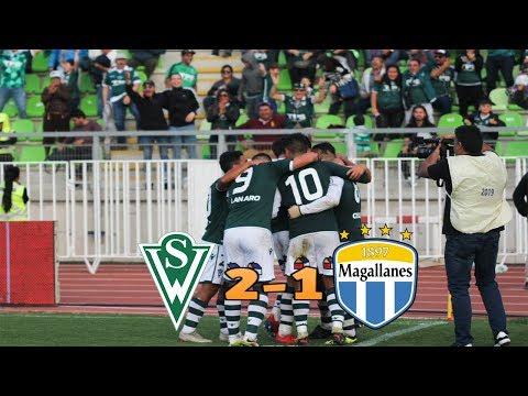 Santiago Wanderers 2 Vs 1 Magallanes / Resumen Y Goles / Campeonato Loto 2019
