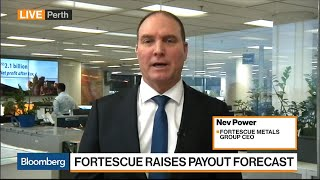 Fortescue CEO Power Says Iron Ore to Remain Core Business