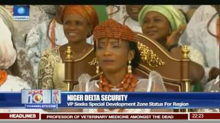 Niger Delta Security: VP Seeks Special Development Zone Status For Region