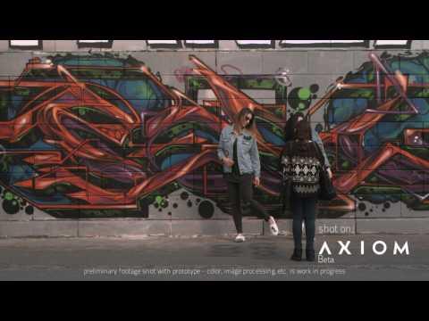AXIOM Beta Sample Footage: Danube Vienna