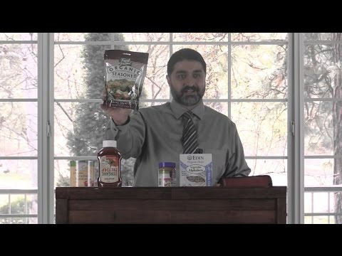 GMOs, Monsanto, & Organic Food (Sermon, Bible)
