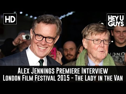 Alex Jennings   The Lady in the Van Premiere