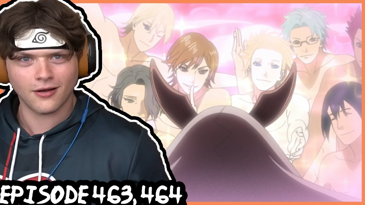 Download NARUTO'S REVERSE HAREM JUTSU ON KAGUYA?! || Naruto Shippuden REACTION: Episode 463, 464