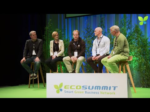 ECO14 Berlin: Accelerator Panel Startupbootcamp Climate-KIC Rockstart Swedish Energy Agency