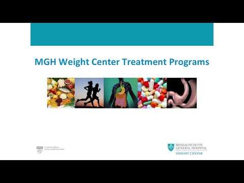 Massachusetts General Hospital Weight Center Orientation