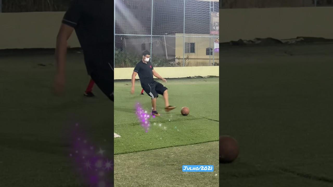 ⚽️ Jogo de futebol hoje São Paulo x Racing. Oitavas de final. Quase foi gol! Criança jogando futebol