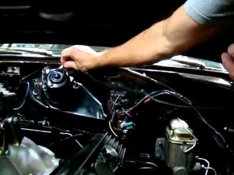 69 Mopar electrical connections on the wiper motor - YouTube