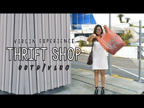 VIRGIN THRIFT SHOP EXPERIENCE! ◇ OOTD + Vlog