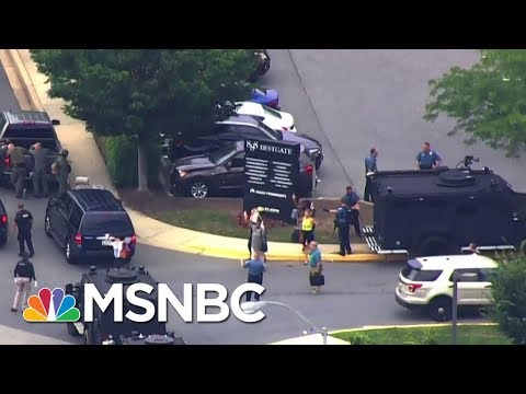 'We Do Have Injuries,' Officials At Maryland Shooting | MSNBC