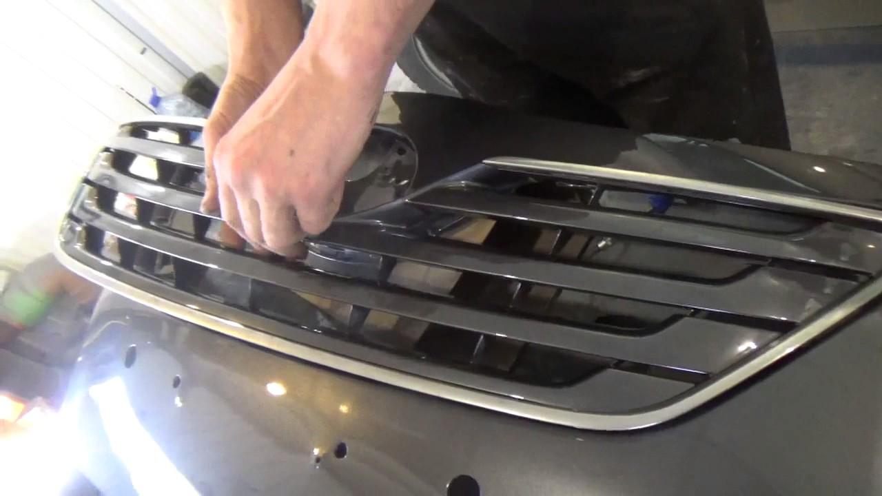 Toyota Camry Vl. Снятие установка переднего бампера.