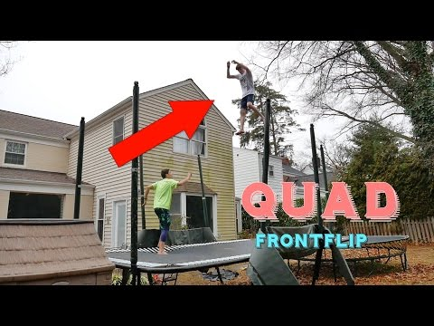 PUSHING THE LIMITS OF TRAMPOLINE (QUAD FRONT)