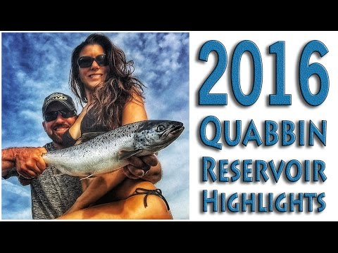 2016 Quabbin Fishing (Targeting salmon, Smallmouth & Trout)