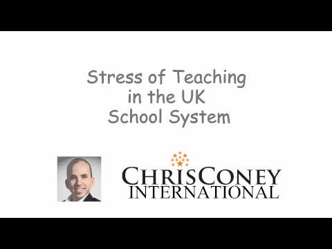 Stress Of Teaching In The Uk School System