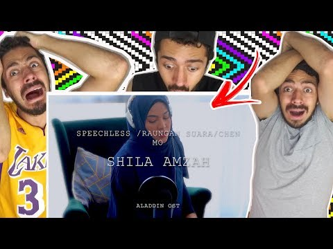 BRAZILIAN REACTION TO Speechless  Raungan Suara  沉默 - Shila Amzah - Aladdin Soundtrack