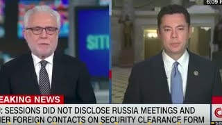 JASON CHAFFETZ ALMOST LAUGHING AT CNN HOST'S QUESTIONING  OF RUSSIA PROBE!