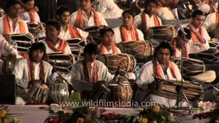 Sitar and Tabla players from all over the state of India