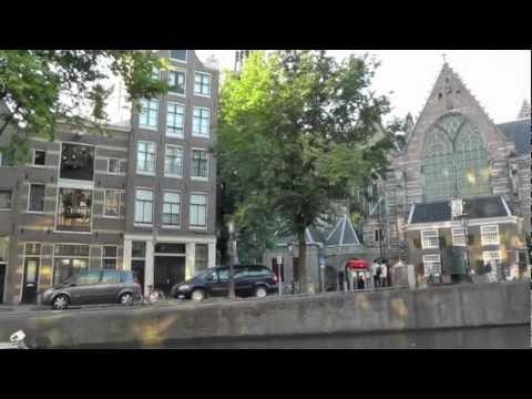 Carillon at Oude Kerk in Amsterdam.