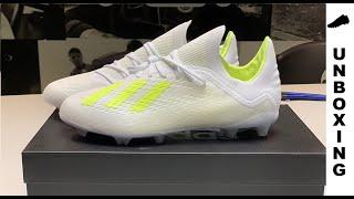 purchase cheap 29976 00a7a adidas X 18.1 FG AG Virtuso Pack - White Solar Yellow Kids