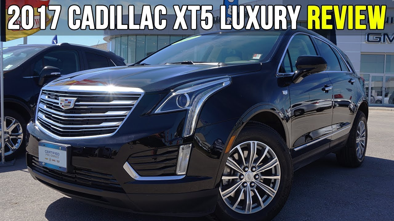 2017 Cadillac Xt5 Luxury Awd Stellar Black Metallic In Depth Review