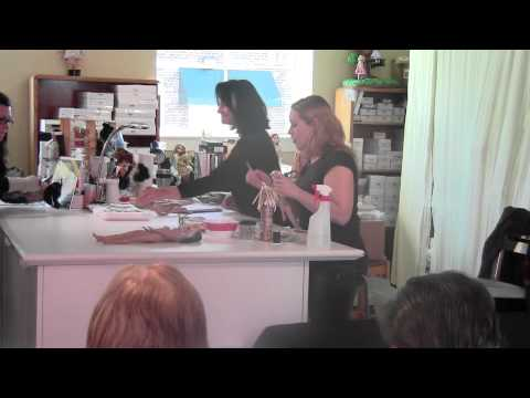 Tonner Doll Company Workshop Demonstration:  Caught on Video!  Check it out!
