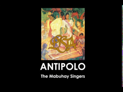 Mabuhay Singers - Tayo Na Sa Antipolo Lyric Video - YouTube