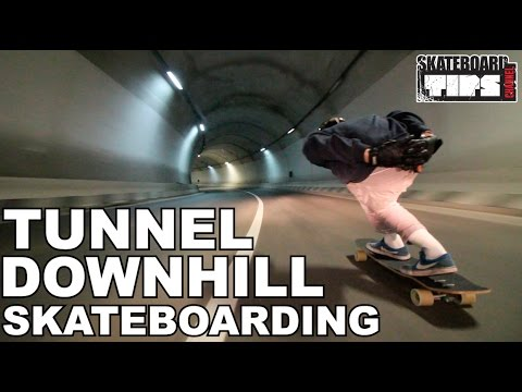 Extreme Downhill Skateboarding 2017