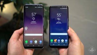 هاتف Galaxy S8 : مراجعة هاتف جالكسى اس 8 +Galaxy S8 تحفة سامسونج الجديدة