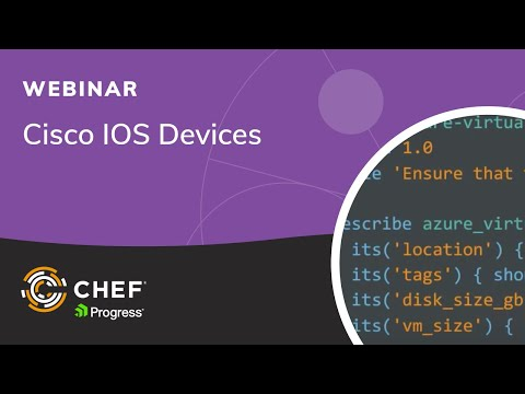 Using InSpec with Cisco IOS Devices - Chef Blog