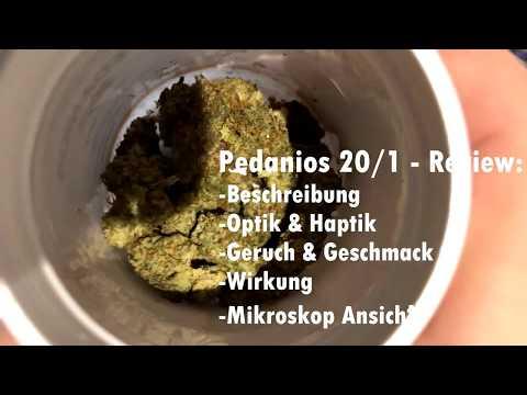 Medizinisches Cannabis Pedanios 20/1 Review (LA Confidential)