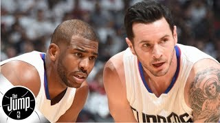 JJ Redick says the Lob City Clippers 'f----- [things] up' by not winning a title | The Jump