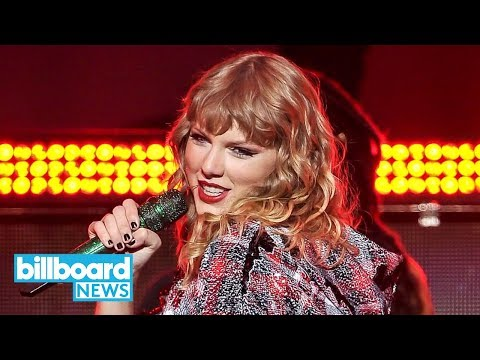 Taylor Swift: 'Reputation' Tops Billboard 200 Albums Chart for Third Week | Billboard News