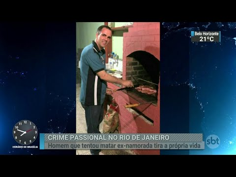 Corretor acusado de tentar matar ex-namorada comete suicídio | SBT Brasil (03/07/18)