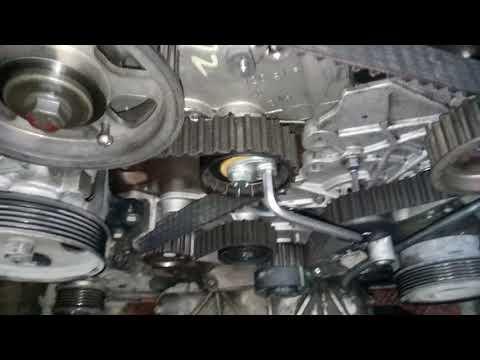 Замена ремня ГРМ на двигателе 4D20 авто Hover H5 DT