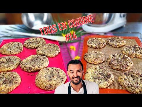 tous-en-cuisine-#14-:-je-teste-les-cookies-aux-deux-chocolats-de-cyril-lignac-!