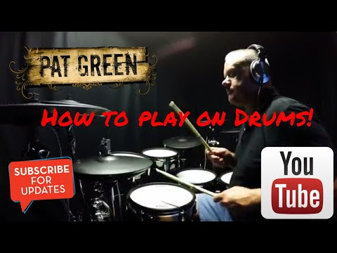 How to Play Wave on Wave by Pat Green. (Drums Only) (4K)