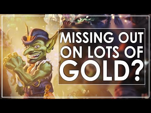 Legion Gold Guide: Want To Earn 5x More Gold From Stuff You're Already Doing?