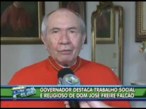 Dom José Freire Cardeal Falcão de volta às raízes. - YouTube