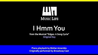 I Hmm You (Edges) - Piano Playback for Cover / Karaoke