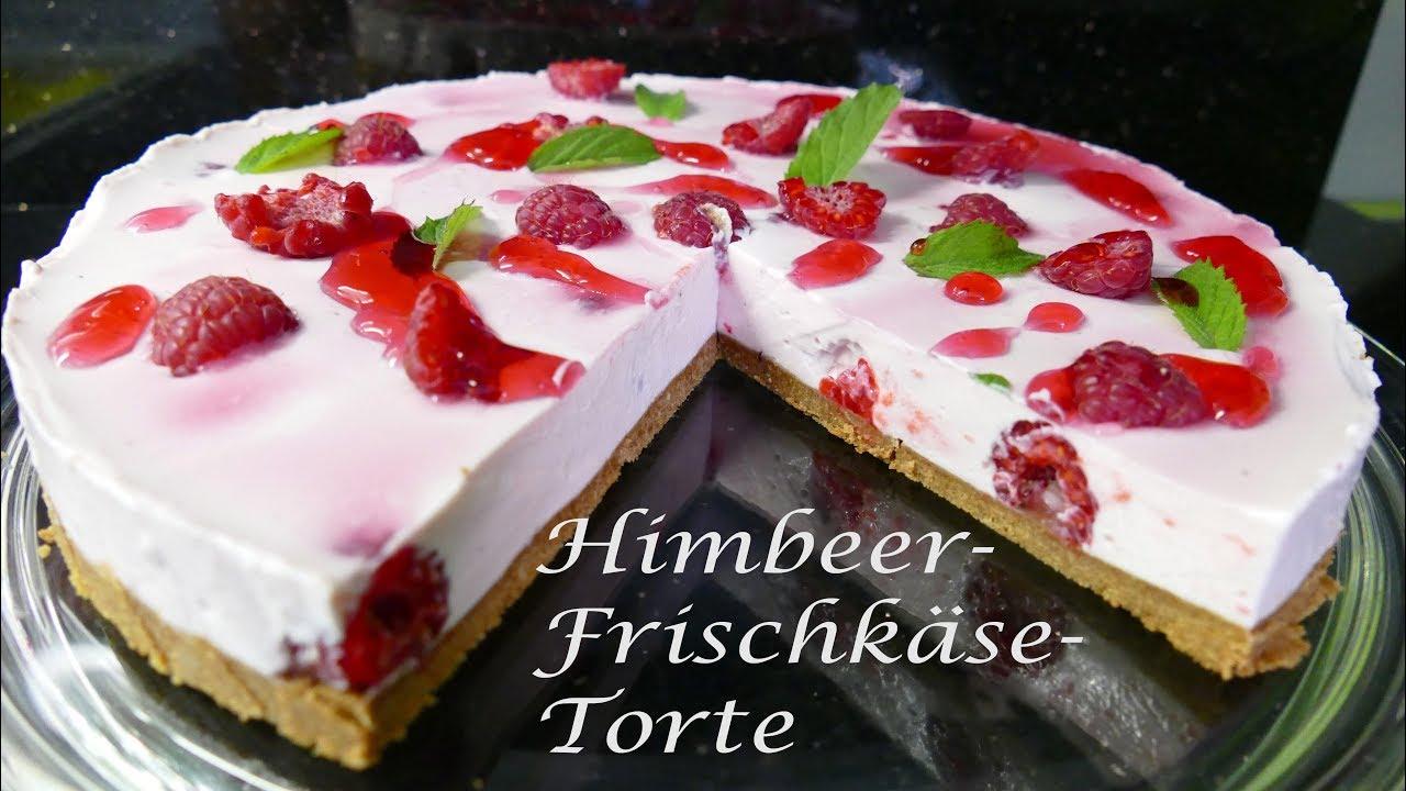 Thermomix Tm5 Himbeer Frischkase Torte Kuhlschranktorte Youtube