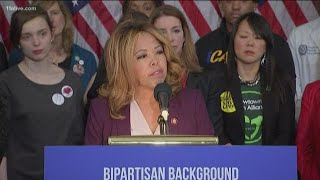 Congresswoman Lucy McBath co-sponsors universal background check legislation
