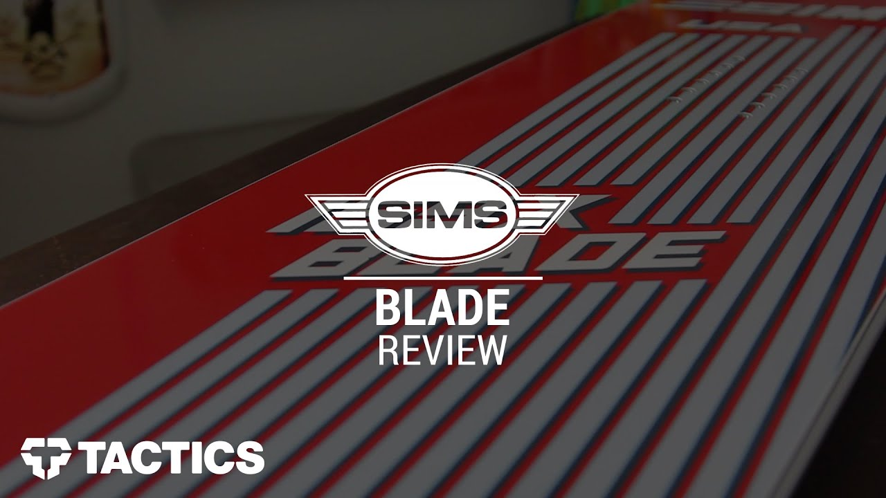 2f14bf7f6db SIMS Blade 2016 Snowboard Review - Tactics.com - YouTube