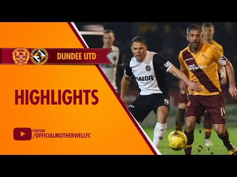 Motherwell vs Dundee United Highlights 11/03/2016